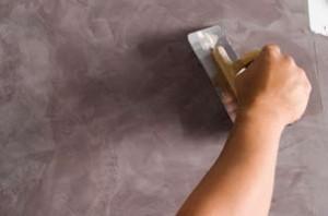 Stucco mat applicatie