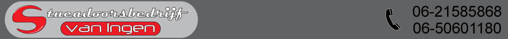 Stucadoorsbedrijf van Ingen Logo