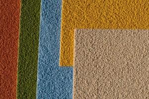 Spachtelputz is in alle kleuren leverbaar.